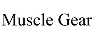 mark for MUSCLE GEAR, trademark #85718278