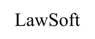 mark for LAWSOFT, trademark #85718476