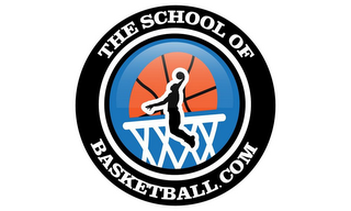 mark for THE SCHOOL OF BASKETBALL.COM, trademark #85718488