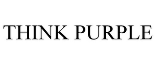 mark for THINK PURPLE, trademark #85718540