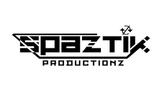 mark for SPAZTIK PRODUCTIONZ, trademark #85718672