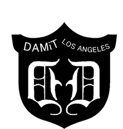 mark for DAMIT LOS ANGELES D D, trademark #85718762