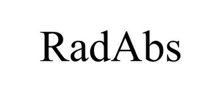 mark for RADABS, trademark #85718815