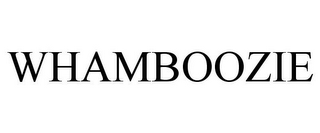 mark for WHAMBOOZIE, trademark #85719022