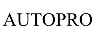 mark for AUTOPRO, trademark #85719080