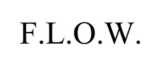 mark for F.L.O.W., trademark #85719172