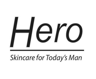mark for HERO SKINCARE FOR TODAY'S MAN, trademark #85719258