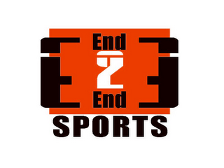 mark for END 2 END SPORTS, trademark #85719450