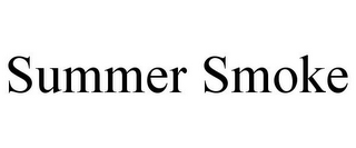 mark for SUMMER SMOKE, trademark #85719517