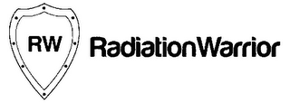 mark for RW RADIATIONWARRIOR, trademark #85719549
