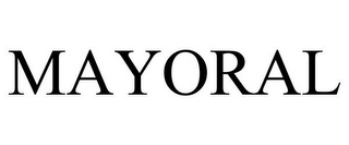 mark for MAYORAL, trademark #85719568