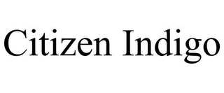 mark for CITIZEN INDIGO, trademark #85719637