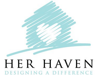 mark for HER HAVEN DESIGNING A DIFFERENCE, trademark #85719793