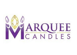 mark for MARQUEE CANDLES, trademark #85719936
