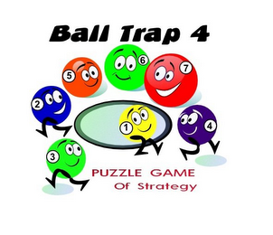 mark for BALL TRAP 4 PUZZLE GAME OF STRATEGY 1 2 3 4 5 6 7, trademark #85720032