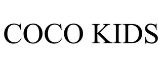 mark for COCO KIDS, trademark #85720232