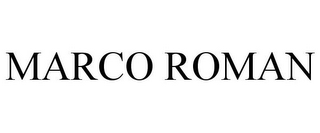 mark for MARCO ROMAN, trademark #85720638