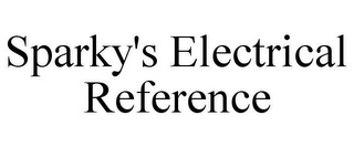 mark for SPARKY'S ELECTRICAL REFERENCE, trademark #85720643