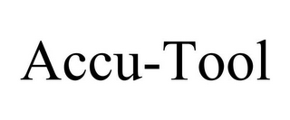 mark for ACCU-TOOL, trademark #85720747