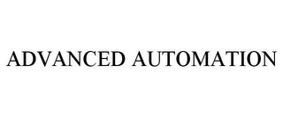 mark for ADVANCED AUTOMATION, trademark #85720838