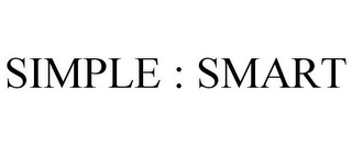 mark for SIMPLE : SMART, trademark #85720958