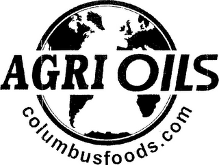 mark for AGRI OILS COLUMBUSFOODS.COM, trademark #85720996