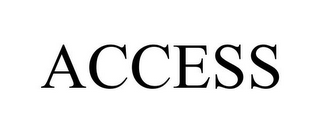 mark for ACCESS, trademark #85721166