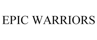 mark for EPIC WARRIORS, trademark #85721198