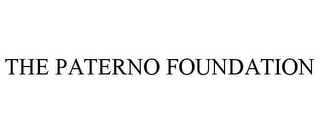 mark for THE PATERNO FOUNDATION, trademark #85721254