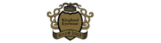 mark for KINGLAND EYEWEAR SINCE 2008, trademark #85721274