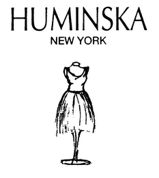mark for HUMINSKA NEW YORK, trademark #85721337