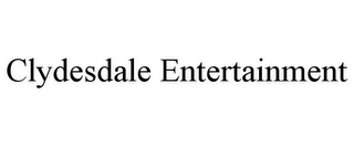 mark for CLYDESDALE ENTERTAINMENT, trademark #85721419