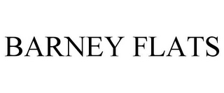 mark for BARNEY FLATS, trademark #85721525