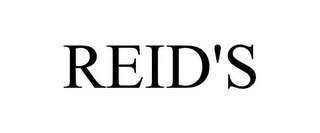 mark for REID'S, trademark #85721631
