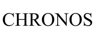 mark for CHRONOS, trademark #85721669
