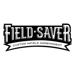 mark for FIELD SAVER CUSTOM INFIELD AMENDMENT, trademark #85721740