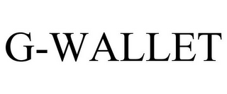 mark for G-WALLET, trademark #85721862
