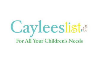 mark for CAYLEESLIST FOR ALL YOUR CHILDREN'S NEEDS, trademark #85721897
