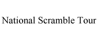 mark for NATIONAL SCRAMBLE TOUR, trademark #85721904