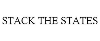 mark for STACK THE STATES, trademark #85721916