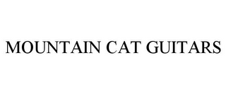 mark for MOUNTAIN CAT GUITARS, trademark #85721926