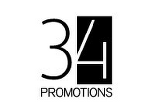mark for 34 PROMOTIONS, trademark #85722138