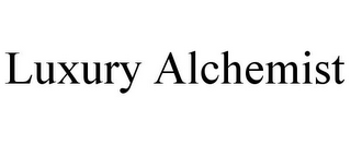 mark for LUXURY ALCHEMIST, trademark #85722200