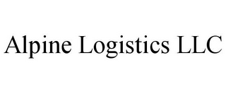 mark for ALPINE LOGISTICS LLC, trademark #85722541