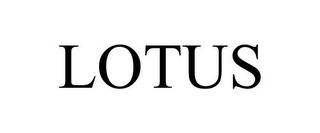mark for LOTUS, trademark #85722726