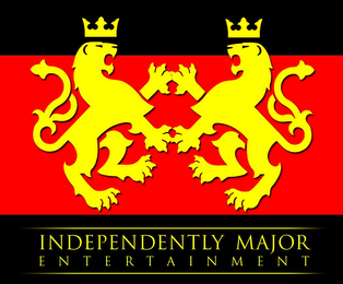 mark for INDEPENDENTLY MAJOR ENTERTAINMENT, trademark #85722943