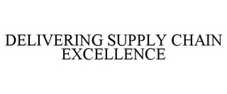 mark for DELIVERING SUPPLY CHAIN EXCELLENCE, trademark #85722949