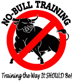mark for NO-BULL TRAINING, trademark #85723093