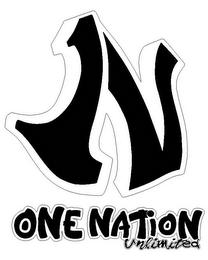 mark for 1N ONE NATION UNLIMITED, trademark #85723185
