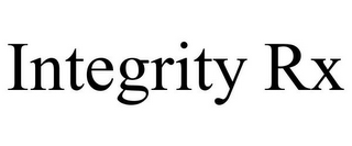mark for INTEGRITY RX, trademark #85723299